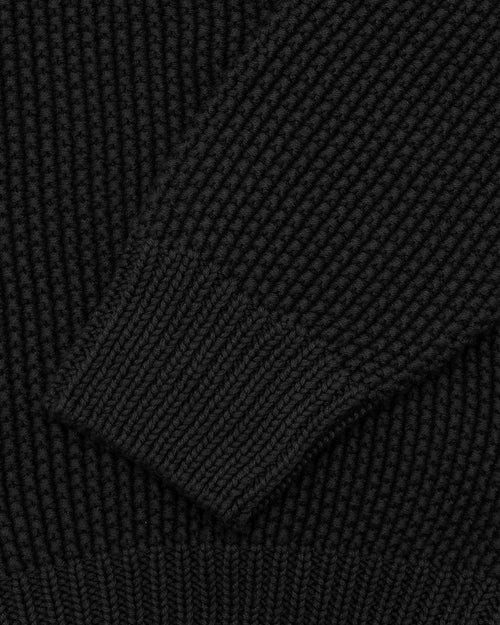 Noah - Collar Seed Stich Sweater - Image - 7