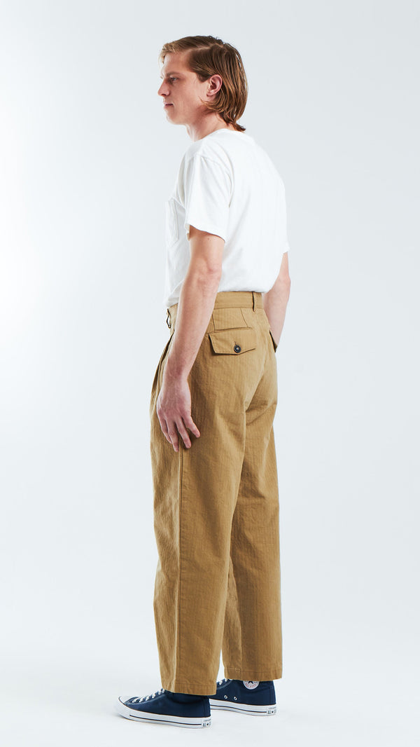 Double Pleated Pant