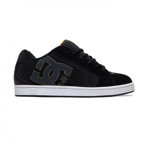 DC - NET SHOE - BLACK/GREY/BLACK