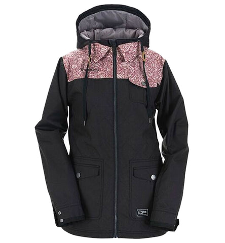 3CS PRET-A-PORTER WOMENS JACKET JET