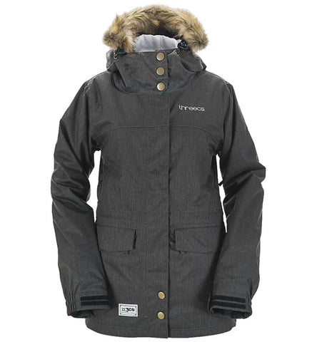 3CS SCARLET WOMENS JACKET GRAPHITE