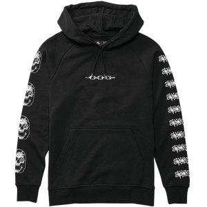 EMERICA x FUNERAL FRENCH HOODIE - BLACK