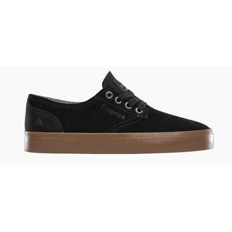EMERICA ROMERO YOUTH SHOE BLACK/GUM