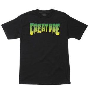 CREATURE YOUTH LOGO TEE - BLACK