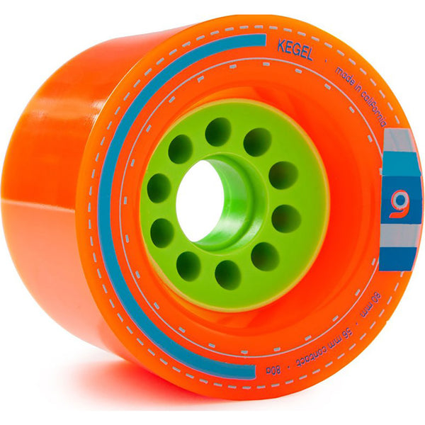 EVOLVE - GT GTX STREET KIT - 80MM ORANGATANG KEGEL 80A WHEELS