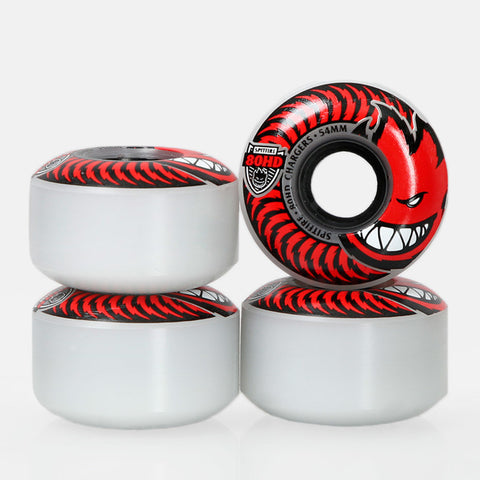 SPITFIRE 80HD CHARGERS RED WHEELS - 58MM