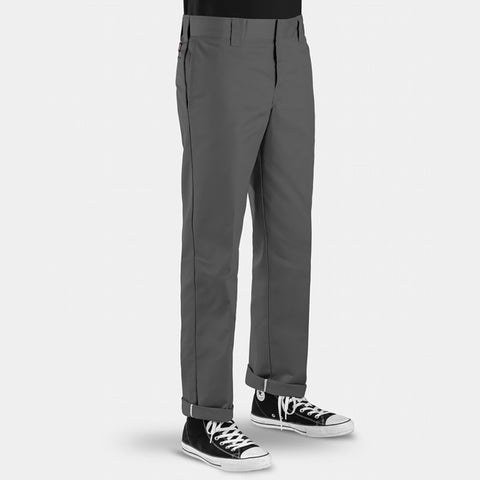 DICKIES - 873 SLIM STRAIGHT FIT PANTS - CHARCOAL