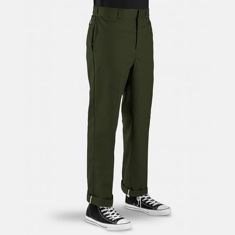 DICKIES - ORIGINAL 874 PANTS - OLIVE GREEN
