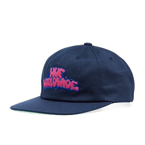 HUF BODE LIZARD 6 PANEL CAP - BLUE/PINK