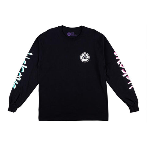 WELCOME ANIMAL KINGDOM LONG SLEEVE TEE BLACK