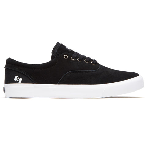 STATE - PACIFICA - BLACK/WHITE SUEDE