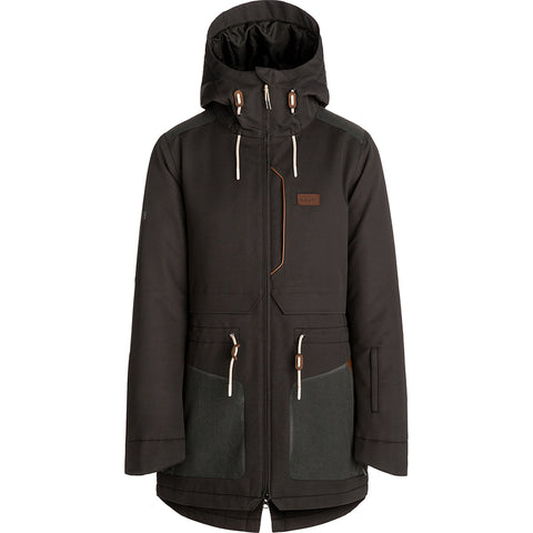 RIP CURL - AMITY WOMENS JACKET - JET BLACK