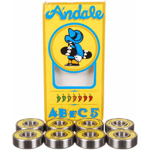 ANDALE - ABEC 5 BEARINGS