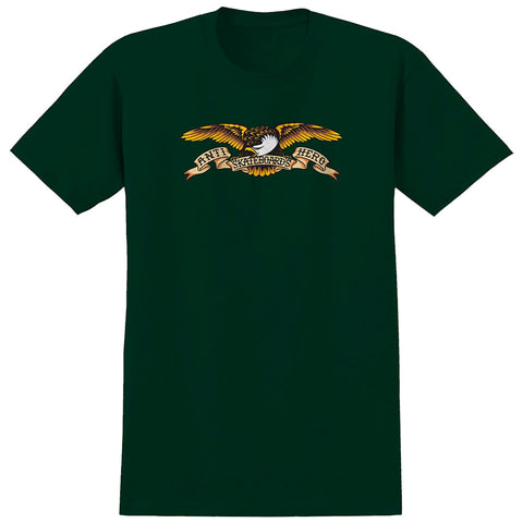 ANTIHERO EAGLE TEE FOREST GREEN