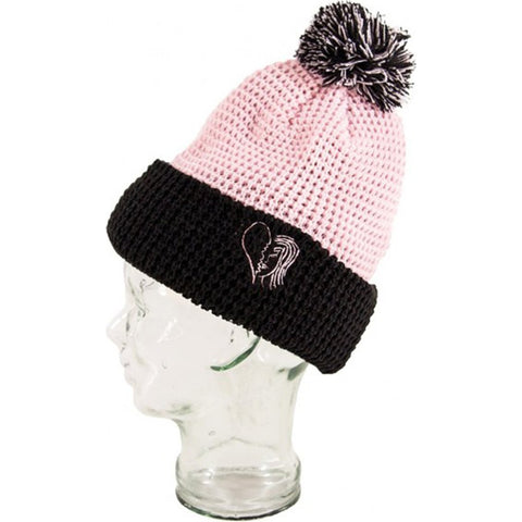 BLAK - HEARTBREAK BEANIE - PINK