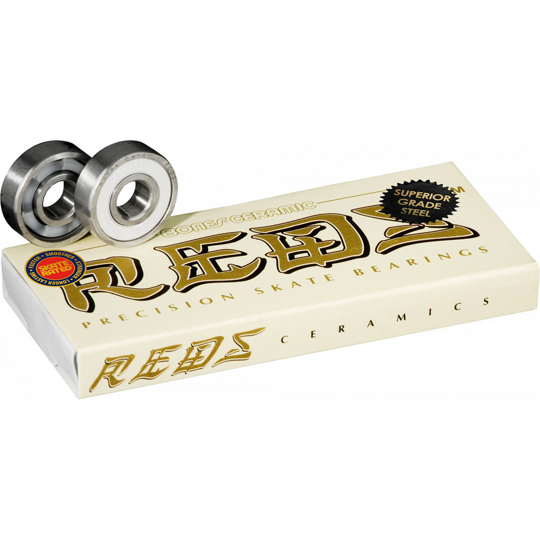BONES CERAMIC SUPER REDS BEARINGS