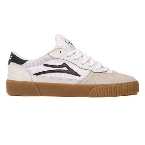 LAKAI CAMBRIDGE - WHITE/BLACK