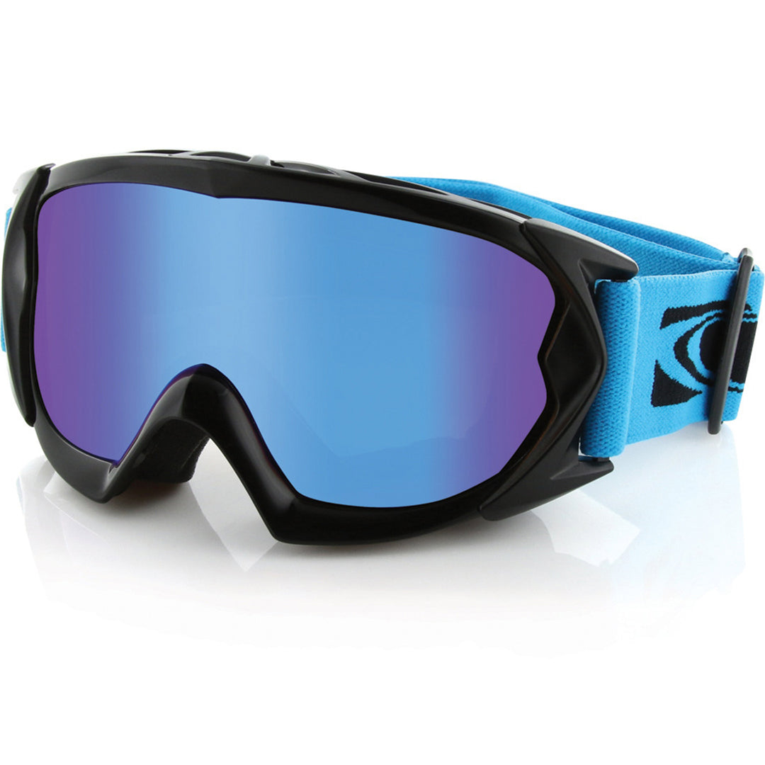 CARVE - ESKIMO - YOUTH GOGGLES - BLACK LOW LIGHT BLUE LENS