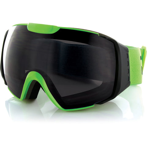 CARVE - PLATINUM GOGGLES - MATTE BLACK / GREEN GREY LENS
