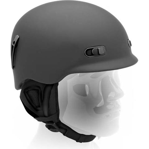 CARVE - REVERB HELMET - MATT BLACK
