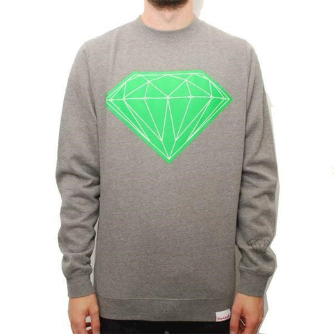 DIAMOND BIG BRILLIANT SWEAT CREWNECK GREY