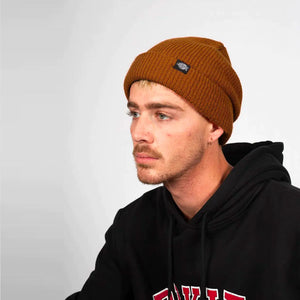 DICKIES SEATTLE FISHERMAN BEANIE ASH BROWN