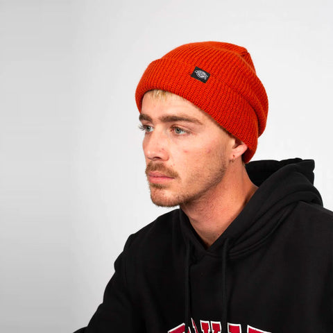 DICKIES SEATTLE FISHERMAN BEANIE RUST