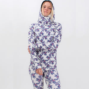 EIVY - BASE LAYER ICE COLD HOOD TOP 2019 - VINTAGE FLOWER