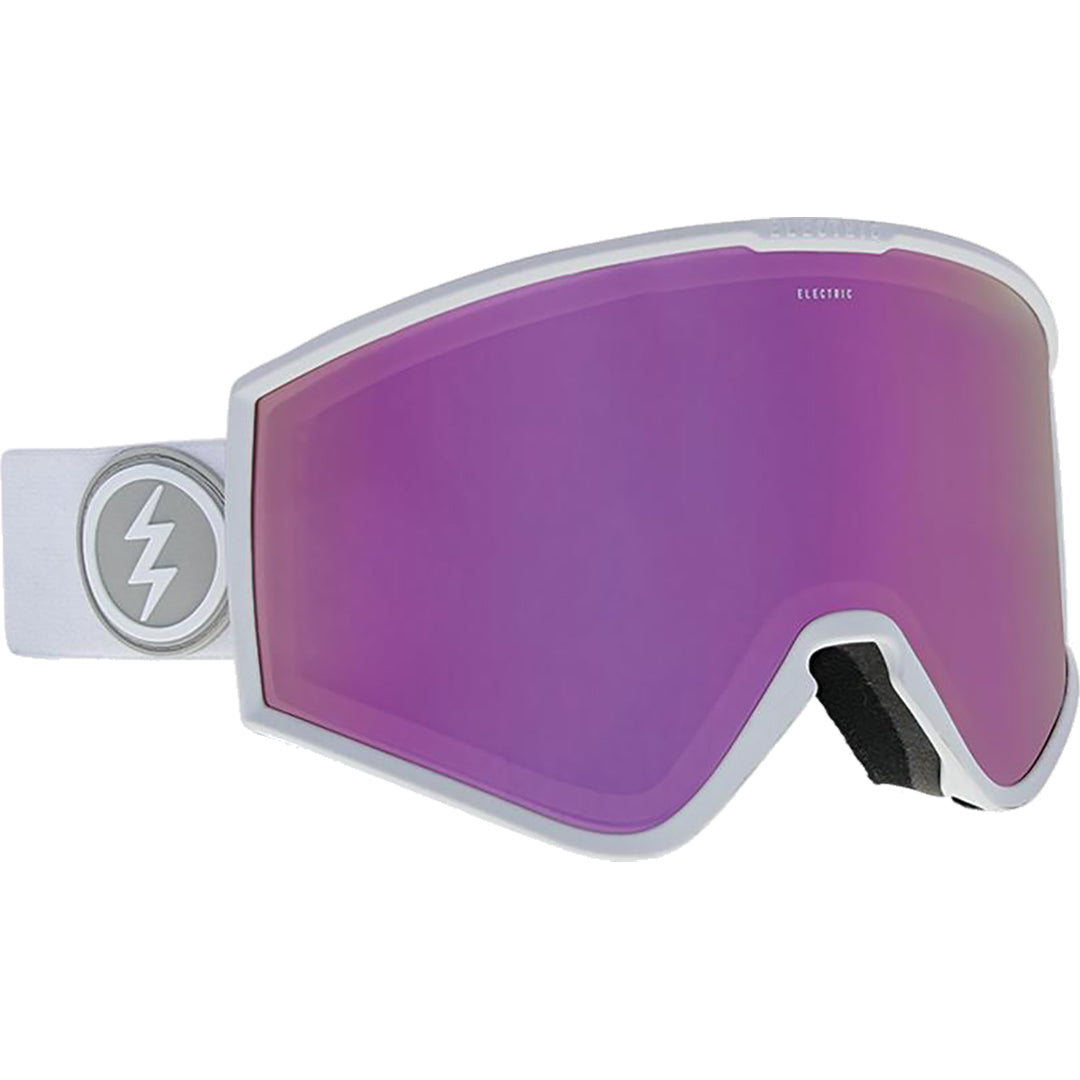 ELECTRIC - KLEVELAND GOGGLES 2019 - MATTE WHITE - BROSE/PINK CHROME