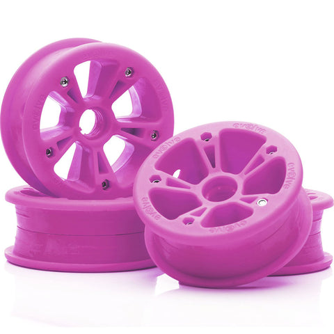 EVOLVE - ALL TERRAIN HUBS (SET OF 4) - PINK
