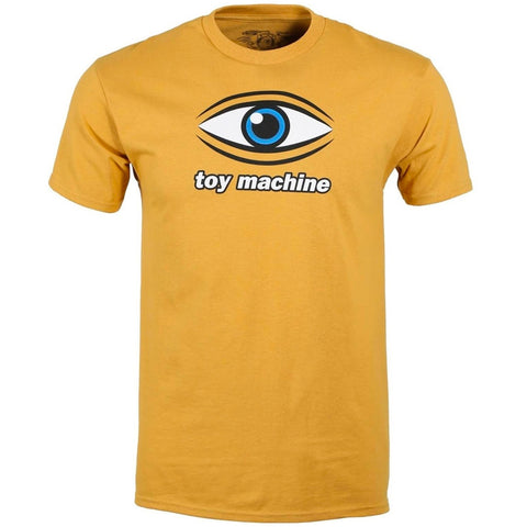 TOY MACHINE EYE TEE - GINGER