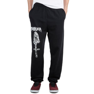 EMERICA FUNERAL FRENCH SWEATPANTS BLACK