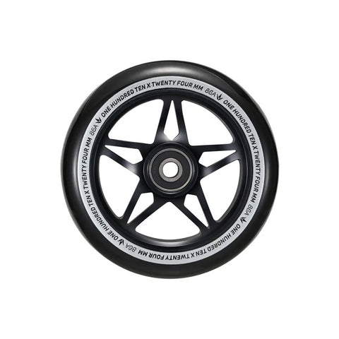 ENVY 110MM S3 WHEELS - BLACK/BLACK