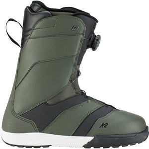 K2 - RAIDER 2019 - MENS SNOWBOARD BOOT - GREEN