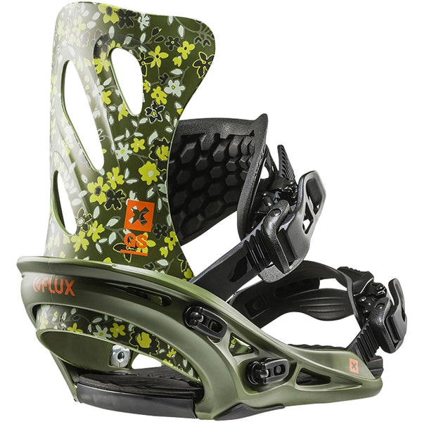 FLUX GS 2018 WOMENS BINDINGS GREEN
