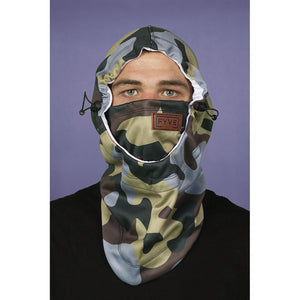 FYVE - FACEMASK HOOD - ARMY CAMO