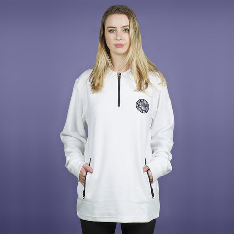 FYVE - POLY FLEECE - WHITE