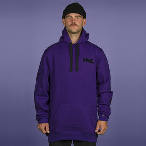 FYVE TEAM HOOD PURPLE