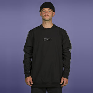 FYVE WATERPROOF CREW-NECK 2020 BLACK GREY