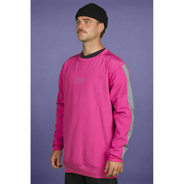 FYVE WATERPROOF CREW-NECK 2020 PINK GREY