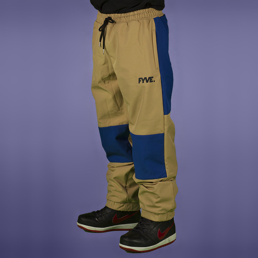 FYVE WATERPROOF TRACKIES TAN BLUE