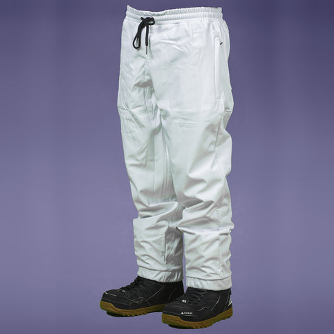 FYVE WATERPROOF TRACKIES WHITE
