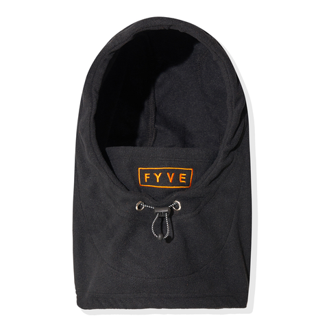 FYVE HOODY FACEMASK BLACK