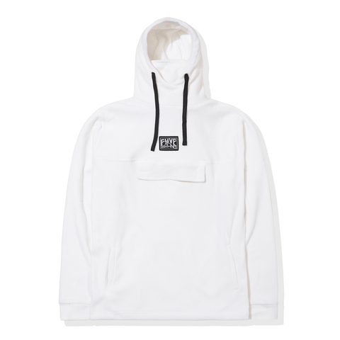 FYVE WHITE NINJA FLEECE HOODY