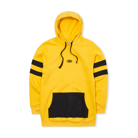 FYVE YELLOW w/BLACK ARMS HOODY