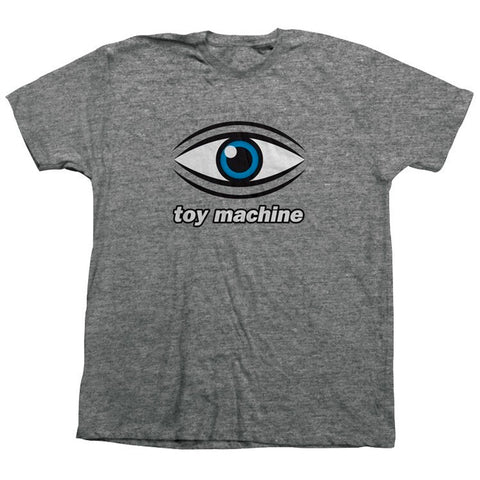 TOY MACHINE EYE TEE - GRAPHITE