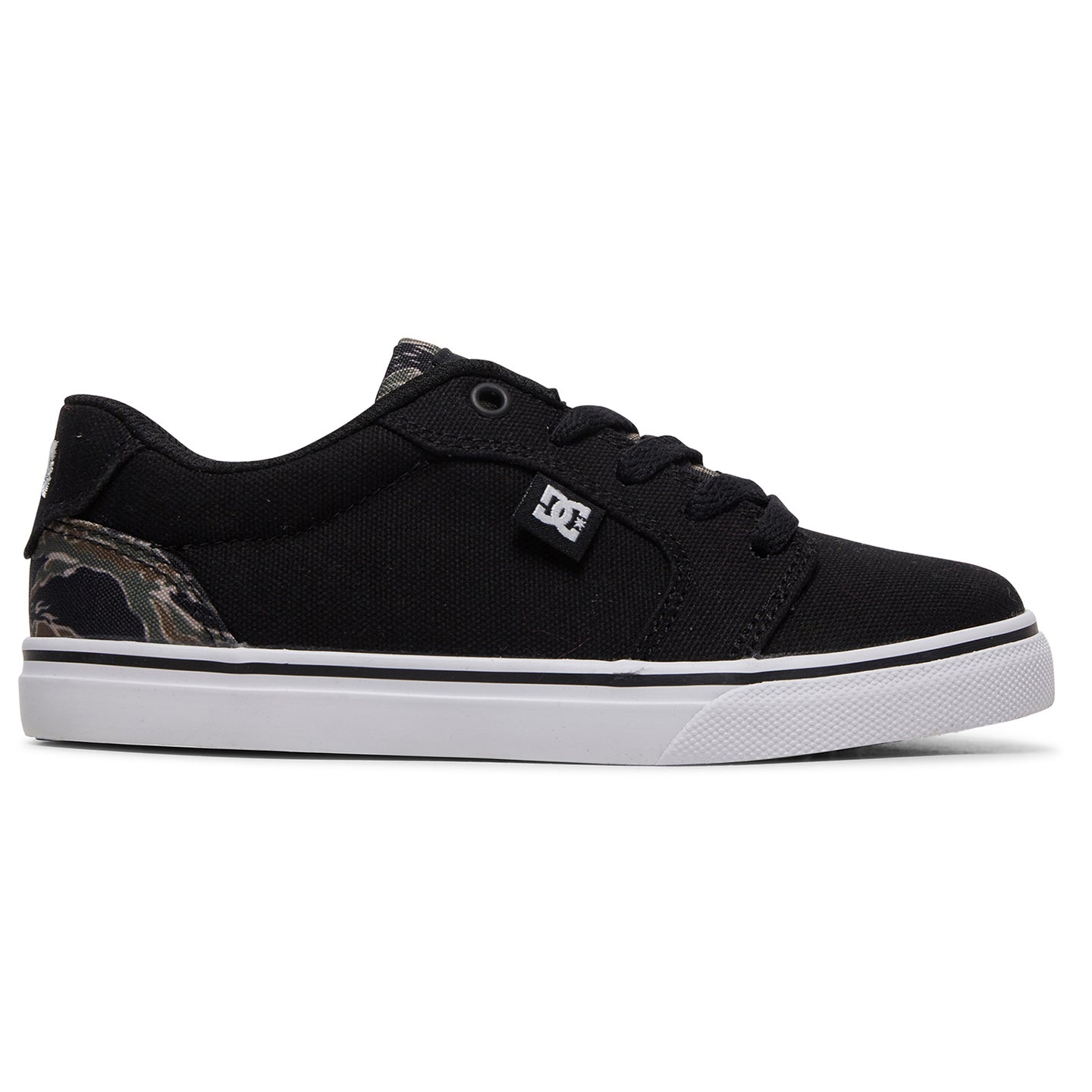 DC ANVIL YOUTH - BLACK/CAMO