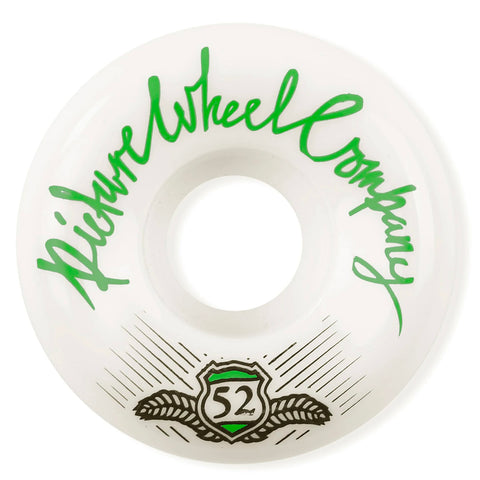 PICTURE - SHIELD 83B CONICAL SHAPE WHEELS 51MM - GREEN
