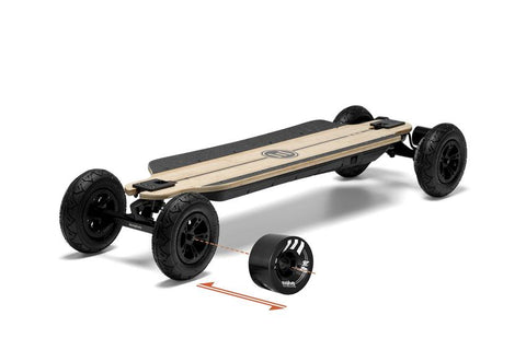 EVOLVE - GTR BAMBOO 2 in 1 - ELECTRIC SKATEBOARD