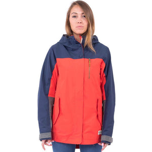 HOLDEN - HANA JACKET - WOMENS - POPPY / INK